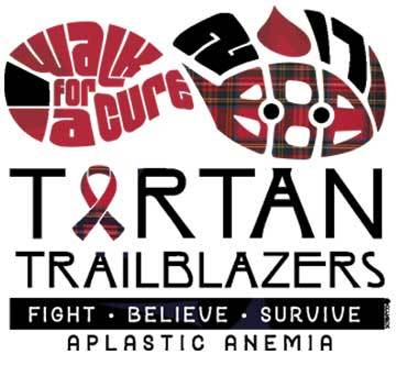 Tartan Email Trailblazers Graphic : Cure Aplastic Anemia