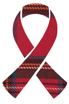 Awareness Ribon for Tartan Trailblazers : Cure Aplastic Anemia