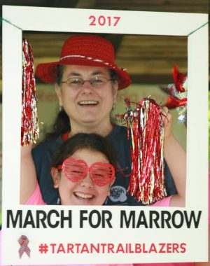 2017 Tartan Trailblazers March_for_Marrow Detroit 5k photo booth 02